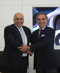 Samvardhana Motherson International Ltd (SMIL) and Magneti Marelli Spa sign a 50/50 joint venture agreement in the field of  shock absorbers for the automotive sector
