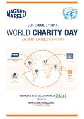 Magneti Marelli celebra o Dia Internacional da Caridade